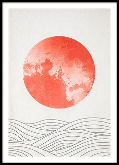 Art prints & Modern art - Buy your art posters online from Desenio Graphic Design Print, Art Design, Vintage Prints, Vintage Posters, Japon Illustration, Country Wall Art, Bike Poster, Inspiration Art, Modern Art Prints