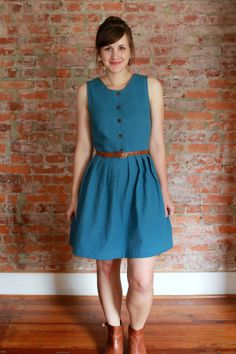 four square walls: cynthia of yore dress