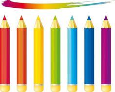 "Photo from album ""Карандаши,ручки"" on Yandex. Foil Art, Barbie Accessories, Crayon, Clipart, Coloring Pages, Embellishments, Pencil, Decoupage, Scrapbook"