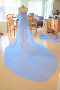 Elsa costume cape tutorial