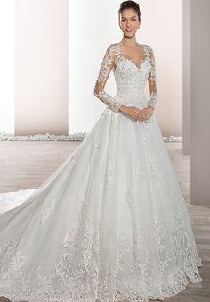 Demetrios 732 Ball Gown Wedding Dress