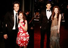 Ben Barnes and Georgie Henley>>> wow! They both grew up so fast! PC premier/VDT premier