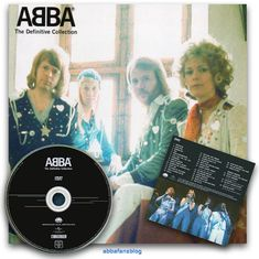 """The image below shows the DVD of Abba videos which was included with """"The Definitive Collection"""" compilation... #Abba #Agnetha #Frida http://abbafansblog.blogspot.co.uk/2017/02/abba-dvd.html"""