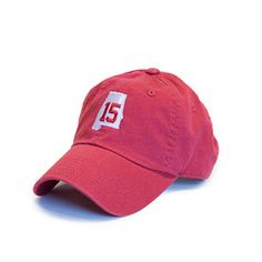 Alabama 15 Hat Crimson