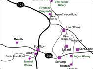 The Sideways Wine Trail - Wine Country Getaways