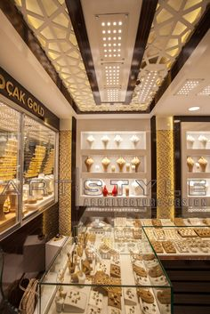 Jewellery Shop Ceiling Design Luxury 42 Cnc False Ceiling Design With Led 2018 Caredecor Wall Wood Jewellery Shop Showcase And Interior Store Decoration Layout Design Buy Jewellery