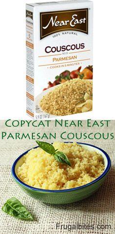 Copycat Recipe Near East Parmesan Couscous #copycatrecipe #couscous