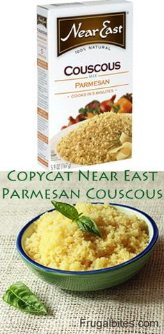 Copycat Recipe Near East Parmesan Couscous #copycatrecipe #couscous