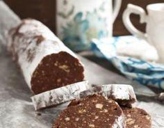 Recette - Saucisson au chocolat facile | 750g