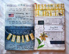 Moleskine - Fanny B. Album Journal, Art Journal Pages, Journal Notebook, Art Journaling, Bullet Journal, Daily Journal, Smash Book, Moleskine, Altered Books