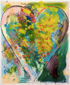 Jim Dine Hon RA's JULY SUMMER X at the RA Summer Exhibition 2015