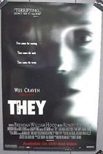 They Movie Poster Wes Craven Used Wes Craven Movies, Best Director, Halloween Movies, Movie Theater, Horror Movies, Im Not Perfect, Films, The Originals, Studio