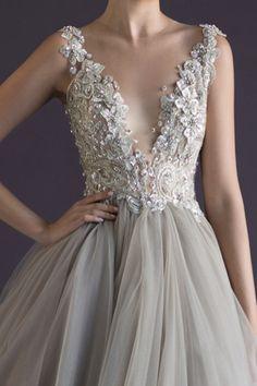 Gorgeous Paolo Sebastian wedding dress