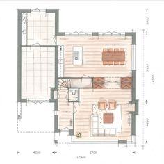 Huis bouwen Icarusblauwtje begane grond optie