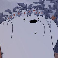 Cute Panda Wallpaper, Cartoon Wallpaper Iphone, Bear Wallpaper, Cute Disney Wallpaper, Cute Wallpaper Backgrounds, We Bare Bears Wallpapers, Panda Wallpapers, Cute Cartoon Wallpapers, Ice Bear We Bare Bears