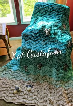 """You Are My Sunshine"" Blanket -Back by popular demand. Please read ful – Katiebird Lane Crochet Boat, Crochet Turtle Pattern, Beach Crochet, Crochet Blanket Patterns, Baby Blanket Crochet, Crochet Blankets, Crochet Afghans, Baby Blankets, Turtle Crafts"