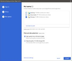 Google Backup and Sync Tool 1.02  Safely back up your files  Upload and store files from any folder on your computer, camera, and SD cards in the cloud. You can find your content on any phone, tablet, or computer using Google Drive, and your photos and videos in Google Photos. #computers #software #freeware #opensource