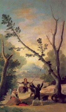 Francisco Goya Painting - The Swing Francisco de Goya Swing Painting, Painting Frames, Painting Prints, Spanish Painters, Spanish Artists, Francisco Goya Paintings, Art Espagnole, Francisco Jose, Watercolor On Wood