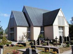 Bromarvin kirkko. Kirkko - Raseborgs kyrkliga samfällighet Raaseporin seurakuntayhtymä   - Carl-Johan Slotten suunnittelema uusi kirkko joka vihittiin käytöön 23. elokuuta 1981.