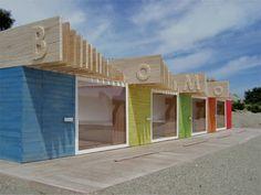 Bournemouth beach huts design proposal by Reinier de Jong. @designerwallace