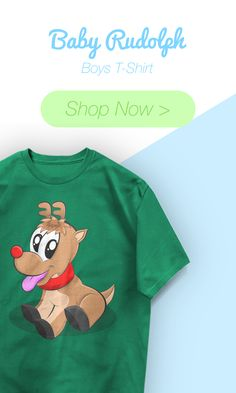 Baby Rudolph Boys T-Shirts have arrived!