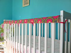 Rosy Lemmons Crafts: Crib Rail Teether Tutorial