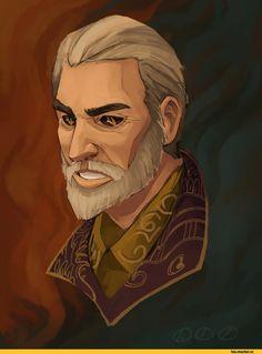 TES art,The Elder Scrolls,фэндомы,Шеогорат,Лорды Даэдра,TES Персонажи,pictus-dog