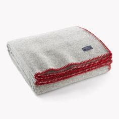 Faribault Mill Wool Lodge Twill Throw
