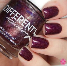 DIFFERENT dimension Babes In Toyland Winter 2015 Collection Swatches & Review | Cosmetic Sanctuary