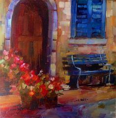 """Doorway"" - Original Fine Art for Sale - © Libby Anderson"