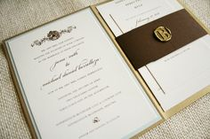 Inexpensive DIY Wedding Invitations
