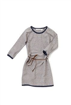 Country Road - Stripe Knit Dress. Cotton and angora. Very junior luxe.