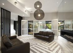 Single Family Residence: Balaclava Road House by C.S Design Beautiful Interior Design, Beautiful Interiors, Modern Interior Design, Interior Architecture, Living Room Modern, Living Spaces, Melbourne House, Modern Architects, Property Design