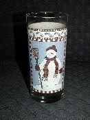 Debbie Mumm Snowman Tall Tumblers