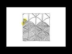 Zentangle Patterns | Tangle Patterns? - Shattuck - YouTube