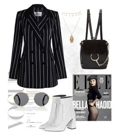 """""""Risky business"""" by jalynlaurel ❤ liked on Polyvore featuring Zimmermann, ASOS, Luv Aj, Chloé, Prada, By Terry and Topshop"""