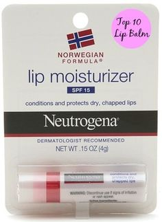 Excellent drugstore lip balm for winter! #Neutrogena (Pin, then click thru to see more!)