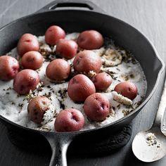 Skillet Salt-Roasted Potatoes