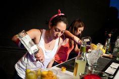 How to be a badass female bartender.