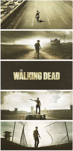The Walking Dead- Rick through the seasons - Visit us for more walkers & zombies https://www.facebook.com/ZombieCPC