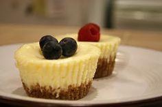 Lazy Gluten Free: Mini Gluten-Free Cheesecakes