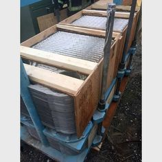 Plate Heat Exchanger.  Adjustable.  Comes with wrench to tighten plates.   Dimensions (L x W x H):  95 in. x 35 in. x 59 in. 2.41 m x 0.99 m x 1.50 m. Weight:  5,800 lbs / 2,630...