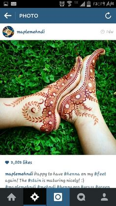 Henna I found on instgram