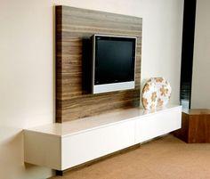 Een speciaal paneel zorgt ervoor dat uw kabels mooi weggewerkt zijn in uw TV-meubel!
