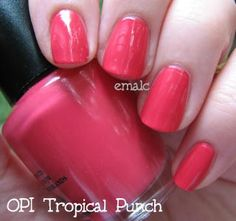 Opi Tropical Punch One Of My Favorites