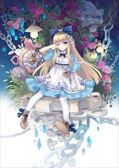 anime alice in wonderland - Tìm với Google