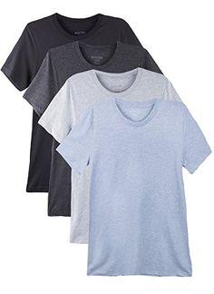 fa50d346 Bolter 4 Pack Men's Everyday Cotton Blend Short Sleeve T-Shirt [Amazon.com