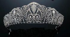 Marie Poutines Jewels & Royals: Large Diamond Diadems