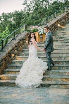 Real Wedding - Beeindruckende Hochzeit auf dem kalifornischen Weingut - 36