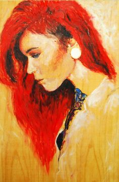 "Sarah Novio; Oil, Painting ""Untitled"""